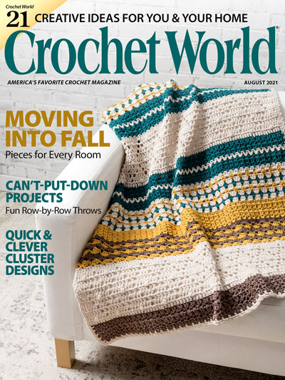 Crochet World August 2021