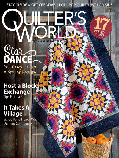 Quilters World August 2021