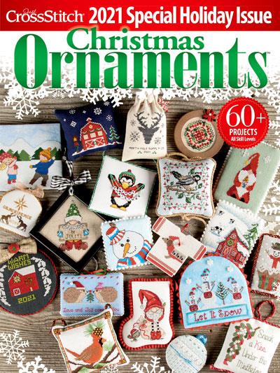 Just CrossStitch Ornaments Winter 2021