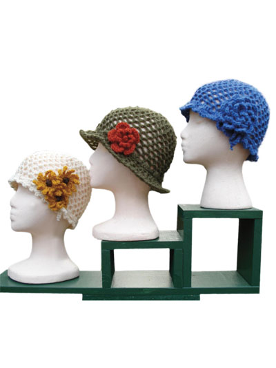 Skully hats crochet pattern