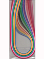 "Multi-Color 1/8"" Quilling Paper 2 pack"