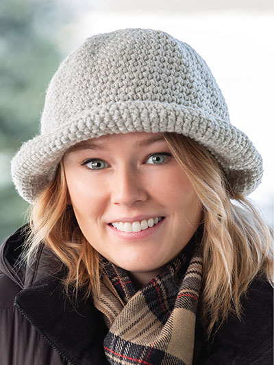 Easy Crocheted Crusher Hat Pattern