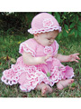 Savannah Ruffled Baby Set Crochet Pattern Pack