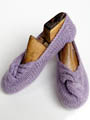 Knotted Slippers Knit Pattern