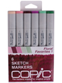 Copic Floral Favorites I 6pc Sketch Set