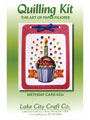 Birthday Cupcake Card Quilling Kit