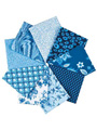 Blue Eden Fat Quarters - 9/pkg.