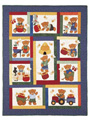 Honey Bears Quilt Pattern