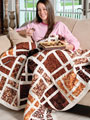 Chocolate Addiction Quilt Kit or The Cut-Up Quilt Pattern