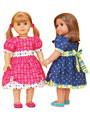 Mini Addison Doll Dress Sewing Pattern